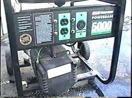 coleman powerbase 5000 watt generator quick overview coleman powerbase 5000 watt generator quick overview
