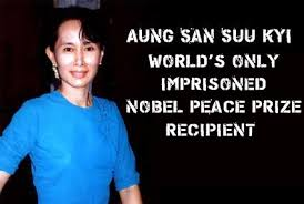 larry buttrose aung san suu kyi nobel prize speech