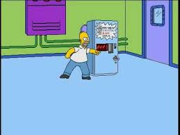 Simpsons Vending Machine Gorgeous Simpsons Cartoon Studio Homer VS The Vending Machine Old Cartoon