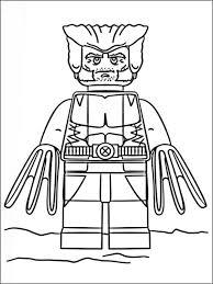 Kleurplaten Lego Super Heroes