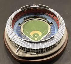 Atlanta Braves Stadium Design Danbury Mint Atlanta Fulton County Stadium Atlanta Braves