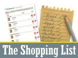 shopping lists the shopping list path to purchase iq