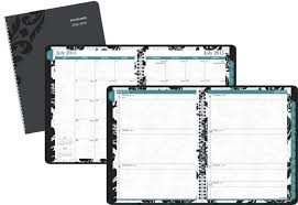At A Glance Weekly Monthly Planner Appointment Book Madrid Academic Year 13 Months July 2015 July 2016 8 5 X 11 Inch Page Size 793p 905a
