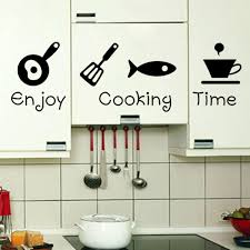 kitchen stickers wall decor for 33 new design creative diy wall stickers kitchen luxury