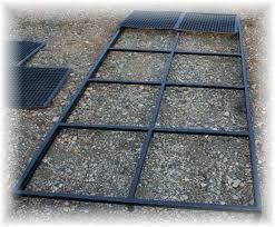 image of kennel flooring options over wood