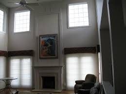 Two Story Living Room Curtains Photos Hgtv Transitional Neutral Two Story Living Room Clipgoo
