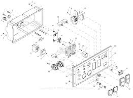 generac 0059310 xp8000e parts diagrams