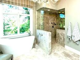 medium size of showers without glass shower walk in no door signs stunning ideas doors stunn