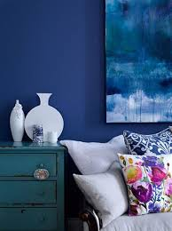 Blue Interior Design Painting