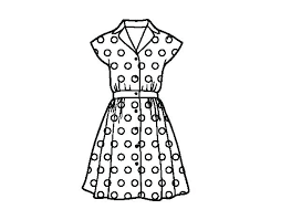 Barbie Dresses Coloring Pages Visitpollinoinfo