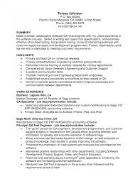 Quality Assurance Resume Resumes For Pharmaceutical Company Software