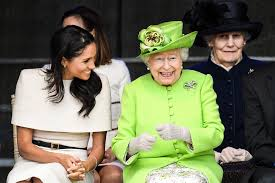 Prince harry gives meghan reassuring hug ahead of coach core awards. Harry And Meghan Have Reportedly Kept In Touch With The Queen Via E Mail Vanity Fair