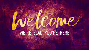 Welcome Purple Mineral Glow Welcome Still