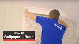 How to wallpaper a room with Wickes ...
