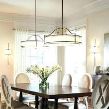 modern design how high to hang chandelier over dining table dining room lighting height pendant lights