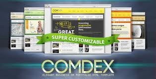 Modern Website Templates Delectable COMDEX Clean And Modern Website Template By Mopc28 ThemeForest