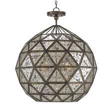 geodesic chandelier