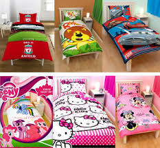 Kids Characters & Brands | Single | Double | Bed Quilt Duvet Cover ... & Image is loading Kids-Characters-amp-Brands-Single-Double-Bed-Quilt- Adamdwight.com