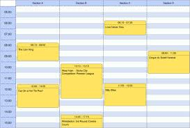 Sample Schedules Sample Schedule Amazing Updated Export Functionality To PDF Excel For Grid And Scheduler