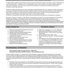 Free Experienced Resume Samples For Software Engineers Free