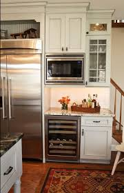 kitchen cabinets for office use. there was a desk area but the homeowner wanted to remove it designer able use that wall for more appliances including large refrigerator kitchen cabinets office