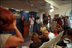 james s brady press briefing room historical photo essay just one day after the 11 2001 terrorist attacks white house press secretary