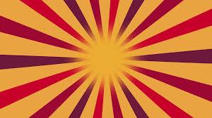 Sun Pattern Stunning Multicolor Burst Vector Background Cartoon Sun Light Yellow Sky