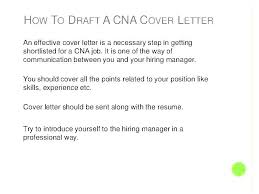 Cover Letter In A Resume Interesting Cna Cover Letter Example Veterinary Nursing Assistant Cover R Sample