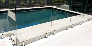 glass pool fencing perth image