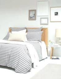 grey striped bedding gray and white striped bedding linen duvet cover striped bedding blue and white