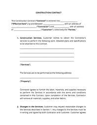 sample of contracts contract templates and agreements with free samples