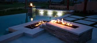 outdoor landscape fire pit