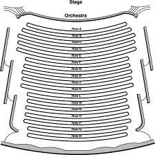 Seating Chart Robert E Parilla Performing Arts Center