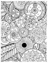 Zentangle Page Black And White Images Sepia And Zentangle