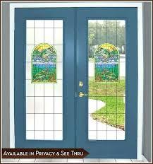 double pane glass panels glass door pane big fish creek door panel privacy or see thru double pane glass