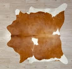 brown and white rug. Cowhide Rug Tan \u0026 White Brown And