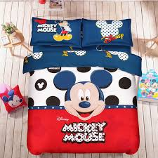 twin full queen mickey mouse bedding set duvet cover flat sheet pillowcase new