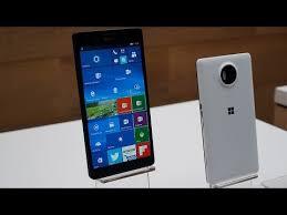 microsoft lumia 950. microsoft\u0027s lumia 950 and xl hands-on microsoft
