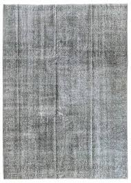 overdyed and patchwork rug gallery grey overdyed rug hand knotted in turkey
