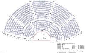Academy Of Music Seating Chart Parquet Rackham Auditorium U M School Of Music Theatre Dance