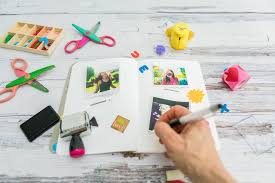 How To Scrapbook A Basic Scrapbook Page