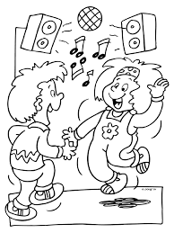 Small Picture Trend Dance Coloring Pages 18 For Coloring Books with Dance