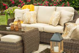 woven wicker  rattan furniture  down to earth living