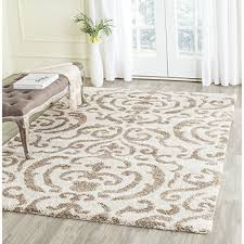 dazzling cream colored area rugs nobby design safavieh florida collection sg462 1113 and beige