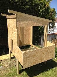 Poulailler Pas Cher House 5 6 Poules Mangeoire Maison Pour Les