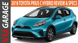 LOOK THIS !! 2018 Toyota Prius C Hybrid Review - YouTube