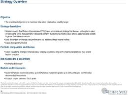columbia strategic income fund fact sheet western asset management company pdf