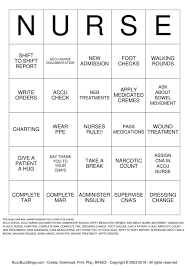 Cna Charting Cna Er Bingo Cards To Download Print And Customize