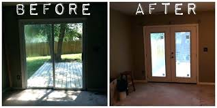 replace sliding glass door with window large size of french sliding glass doors with french doors replace sliding glass door