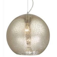 mercury pendant ceiling light chrome
